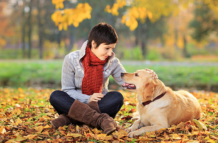 beautiful dog pet and woman drug discount directory